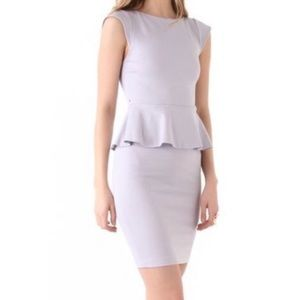 Alice & Olivia Lavender Peplum Dress